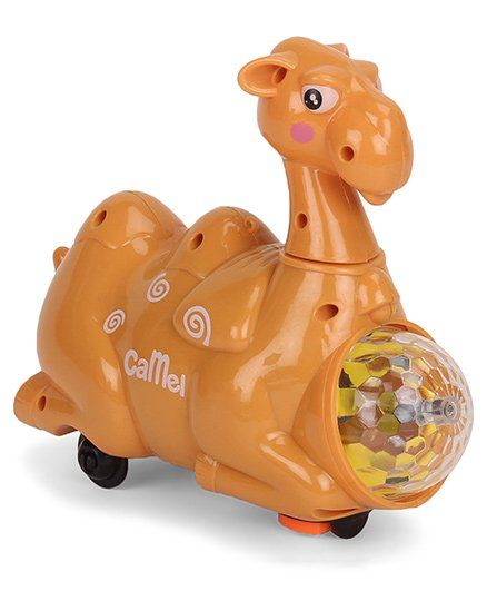 Playmate The Camel With Light And Sound - Brown