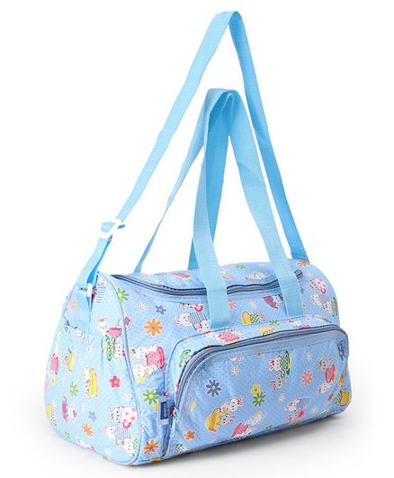 Mee Mee Multi Functional Diaper Bag - Blue