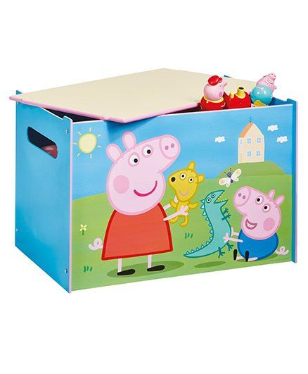 Peppa Pig Storage Box - Multi Color  sc 1 st  FirstCry & Peppa Pig Storage Box Multi Color Online in India Buy at Best Price ...