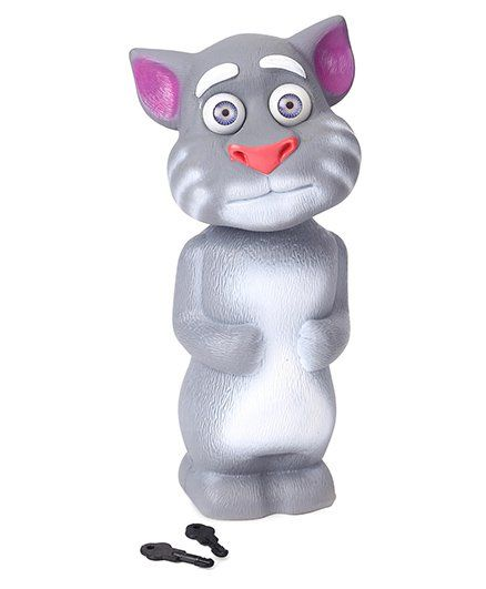 Speedage Tom Cat Money Bank - Grey