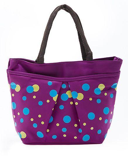 EZ Life Polka Dot Carry Bag - Purple