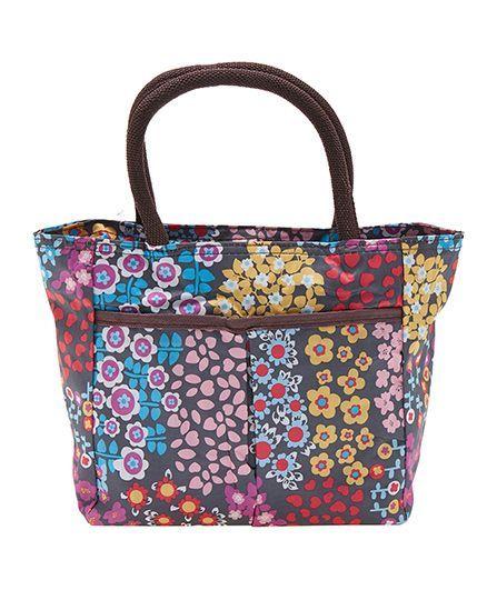 EZ Life Happy Flowers Carry Bag - Multicolour