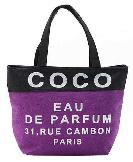 EZ Life Coco Print Carry Bag - Purple