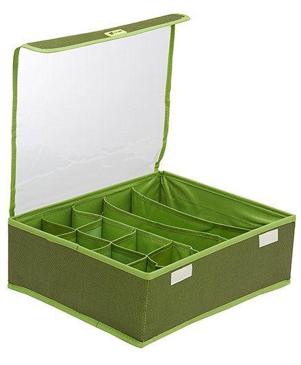 EZ Life Multi Pocket Storage Organizer - Green