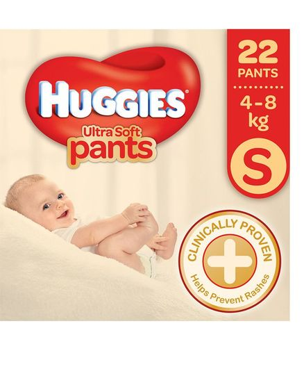 Huggies Ultra Soft Pants Style S Diaper (22 Pieces)