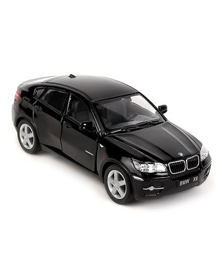 Kinsmart BMW X6 Die Cast Toy Car With Openable Doors - Black