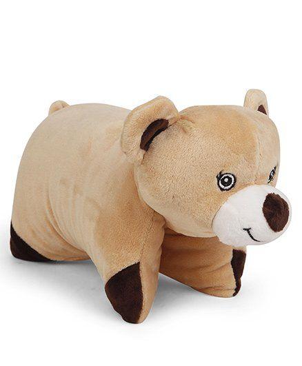 Starwalk Bear Shape Folding Pillow - Brown