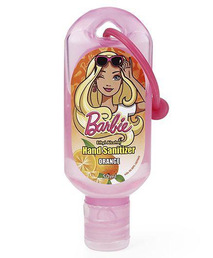 Barbie Orange Hand Sanitizer - 50 ml