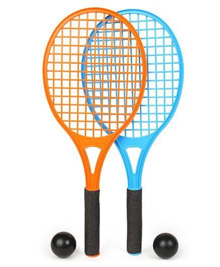Hot Wheels Tennis Racket Set Blue  Orange Online India 611ee06d9533f
