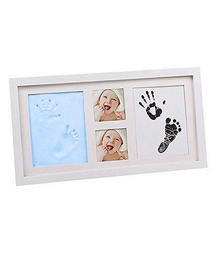 Babies Bloom Hand-Print & Footprint Picture Frame Kit - Blue