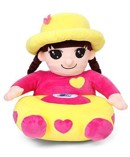 Benny & Bunny Girl Sofa Seat - Pink & Yellow