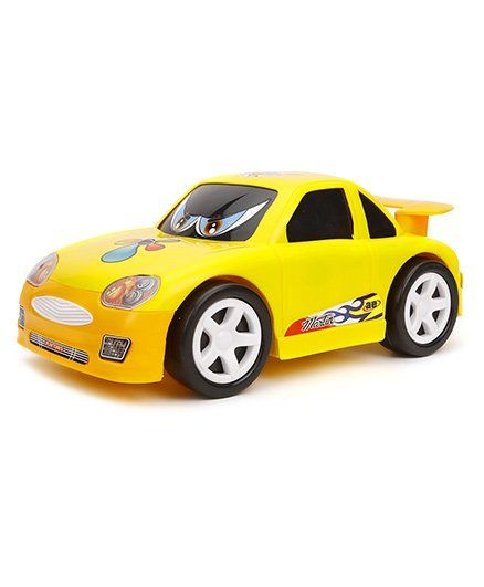 Luvely Friction Powered Martin Car - Yellow