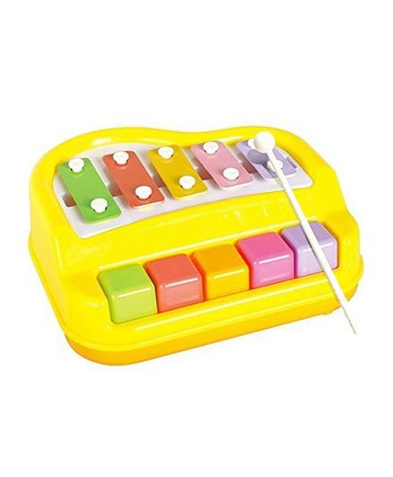 Webby Musical Xylophone And Mini Piano - Multicolor