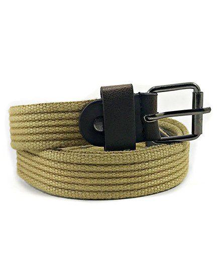 Kidofash Textured Belt - Light Brown