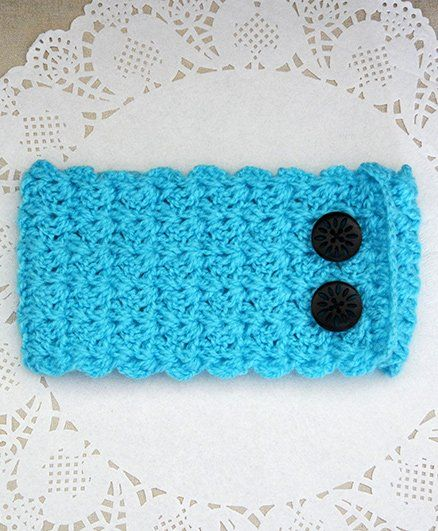 Buttercup From Knitting Nani Classice Ear Warmer -  Turquoise Blue