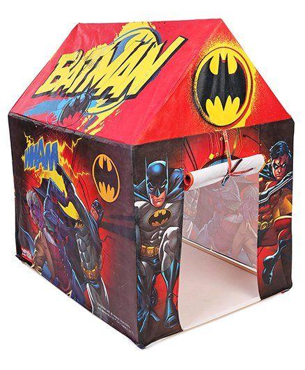 DC Comics Batman Tent House - Red u0026 Black  sc 1 st  FirstCry & DC Comics Batman Tent House Red u0026 Black Online India Buy Outdoor ...