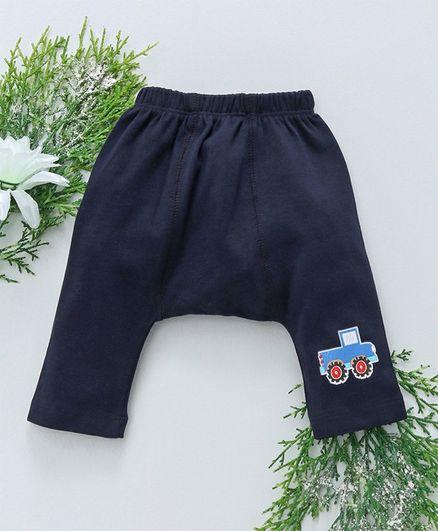 Babyhug Full Length Diaper Leggings - Navy
