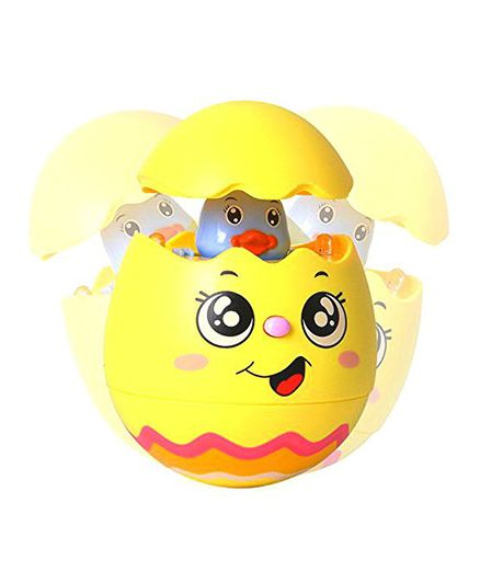 VibgyorVibes Rolly Polly Tumbler Musical Egg ( Color May Vary)