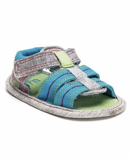 Mothercare Sandals Style Booties - Blue Grey