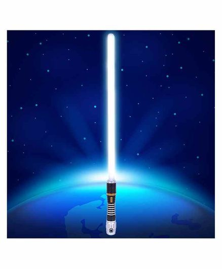 Planet of Toys Lightsaber Sword With Lights And Sound White - Length 83 cm