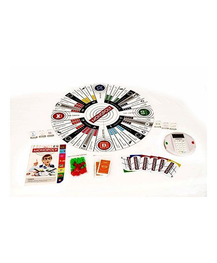 Planet of Toys Musical Monopoly With Revolutionary Round Board - Multicolour