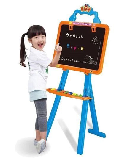 Planet of Toys 3 In 1 Writing Board - Red Blue