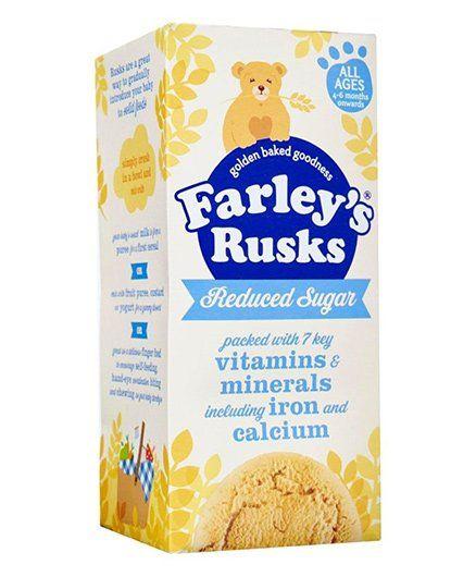 Heinz Farley Rusks Reduced Sugar Finger Food - 150 gm