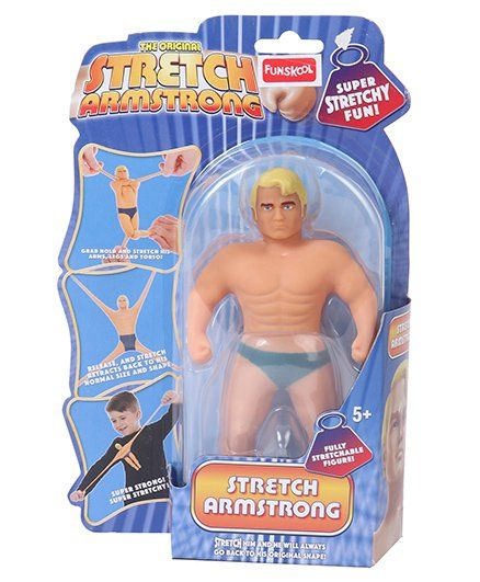 Funskool Mini Stretch Toy Armstrong Figure Beige - 16.5 cm