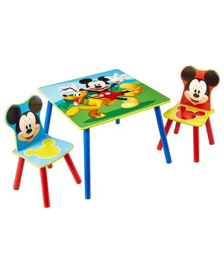 Disney Mickey Mouse Table And Chair Set - Best Image and Description ...