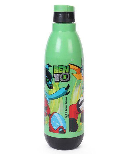 Ben 10 Insulated Bottle Green & Black -700 ml