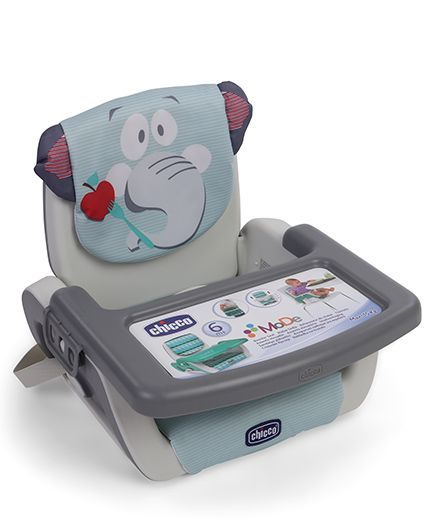 Chicco Mode Booster Seat Elephant Print - Grey