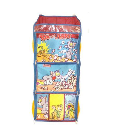 Tom & Jerry F3 Shelf Foldable Hanging Rack - Red