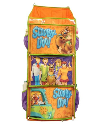 Scooby Doo 3 Shelf Foldable Hanging Rack - Orange