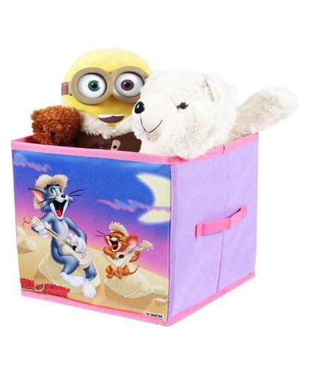 Tom & Jerry Storage Box Small - Multi Colour