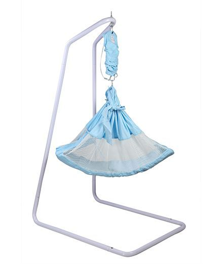 kidzy king baby hammock swing with stand   blue kidzy king baby hammock swing with stand blue online in india buy      rh   firstcry
