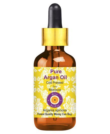 Deve Herbes Pure Argan Oil With Dropper - 30 ml