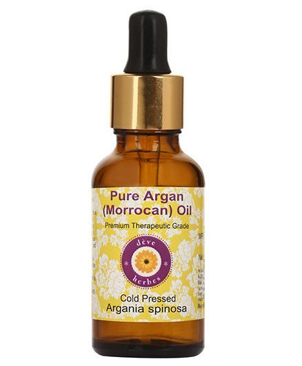 Deve Herbes Pure Argan Oil With Dropper - 50 ml