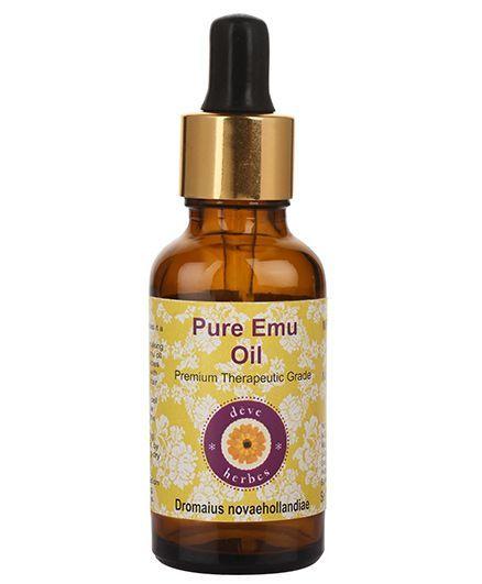 Deve Herbes Pure Emu Oil With Dropper - 100 ml