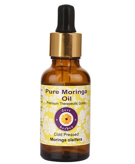 Deve Herbes 100% Pure Moringa Oil With Dropper - 100 ml