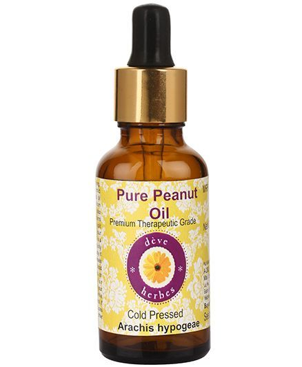 Deve Herbes Pure Peanut Oil With Glass Dropper - 50 ml