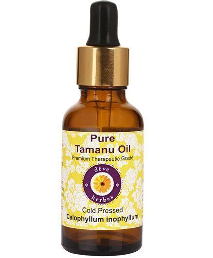 Deve Herbes Pure Tamanu Oil With Dropper - 15 ml