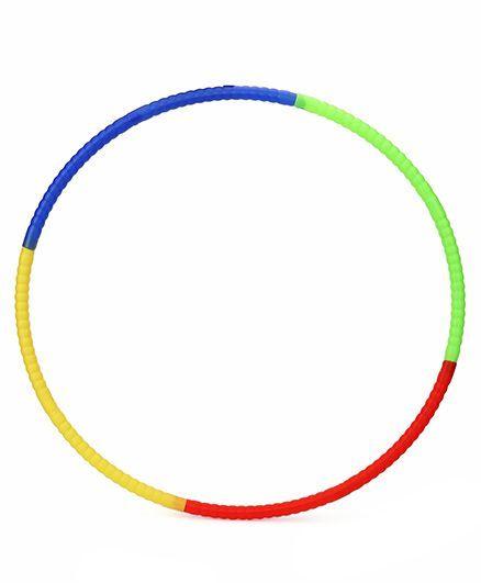 Ratnas Detachable Hula Hoop 8 Pieces - Multicolour