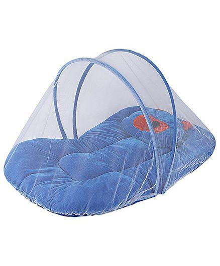 My Newborn Mosquito Net With Mattress - Blue