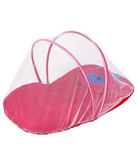 My Newborn Mosquito Net With Mattress - Red