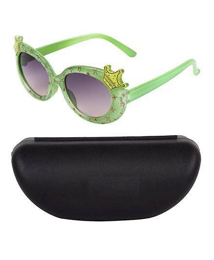 Kidofash Crown Design Sunglasses - Green