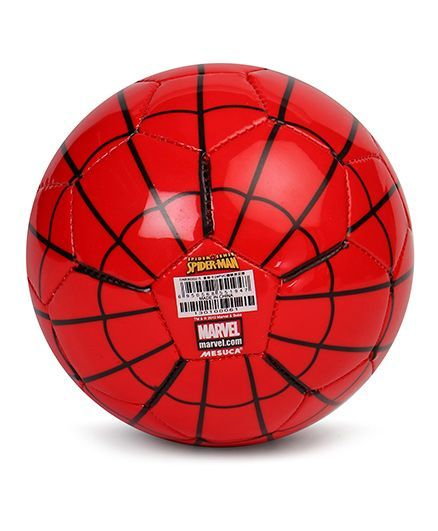 Marvel Soccer Ball Spiderman Print Red Online India b6630080b