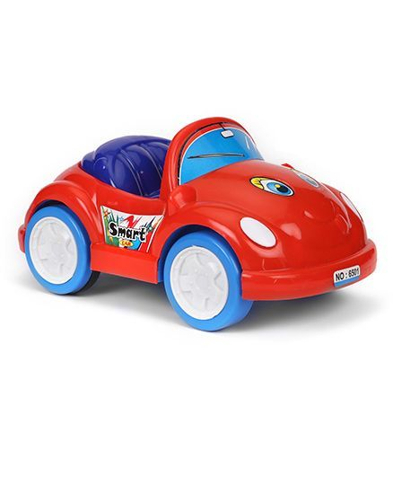 Luvley Push N Go Smart Car (Color May Vary)