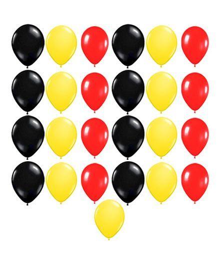 Party Propz Balloons Multi Color - 25 Pieces