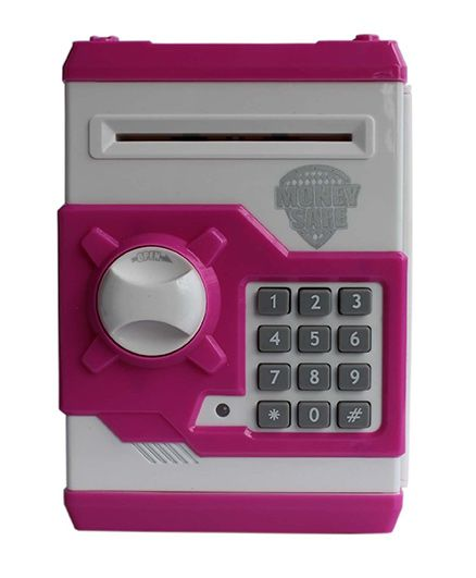 Toyshine Money Bank With Electronic Lock - Pink
