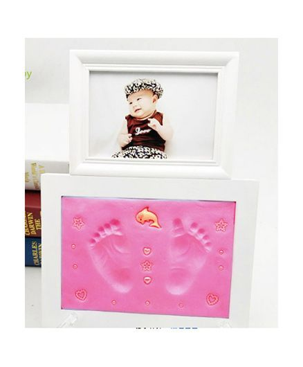 Passion Petals Baby Handprint Kit With Photo Frame Pink Online in ...